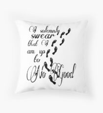 I Solomnly Swear... Throw Pillow