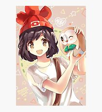 Pokemon Moon/Sun - Rowlet Photographic Print