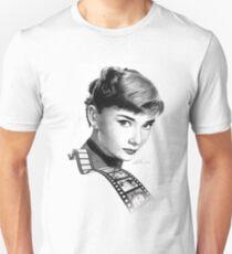 Hollywood stars: Audrey Hepburn Unisex T-Shirt