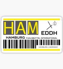 Destination Hamburg Airport Sticker