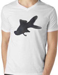 Moor Goldfish Mens V-Neck T-Shirt