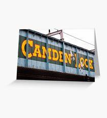 Camden Lock Greeting Card