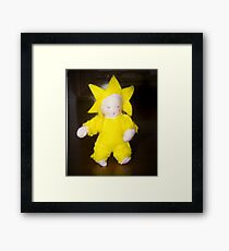 Starlight Child Framed Print