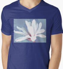 Mother's Magnolia 05 Men's V-Neck T-Shirt