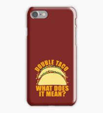 Double Taco iPhone Case/Skin