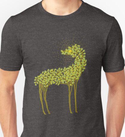 Tree horse with sunburst T-Shirt
