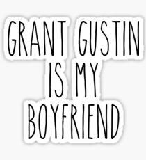 Grant Gustin is my boyfriend Sticker