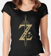 The Legend of Zelda: Breath of the Wild Women's Fitted Scoop T-Shirt
