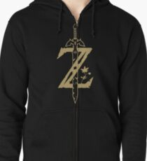 The Legend of Zelda: Breath of the Wild Zipped Hoodie