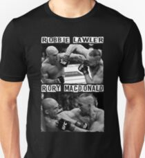 Robbie Lawler Vs Rory Macdonald T-Shirt