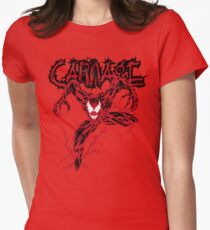 Carnage Women's Fitted T-Shirt