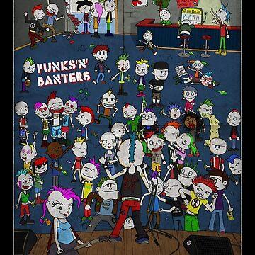Punk Concert - Punks'n'Banters by donaldpunk