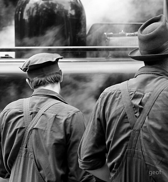 Puffing Billy crew by geof