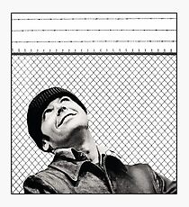 McMurphy from One Flew Over the Cuckoo's Nest Photographic Print