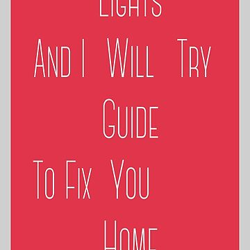 Fix You by zcrb