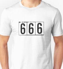 666 t-shirt Unisex T-Shirt