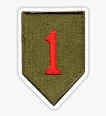 Big Red One - 1st Infantry Division Sticker