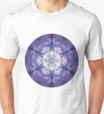 Camiseta ajustada Electric Love Mandala