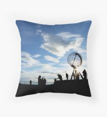 North Cape, Norway Throw Pillow