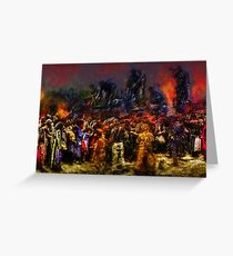 War is Hell Greeting Card