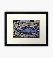 Red Island Newfoundland Framed Print