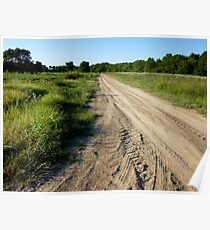 Dry Dusty Road Poster