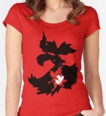 Fennekin - Braixen - Delphox ( Evolution Line ) Women's Fitted Scoop T-Shirt