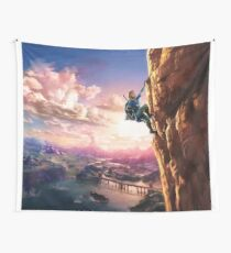 Zelda Breath of the Wild key Artwork (Works on every Item!) Wall Tapestry