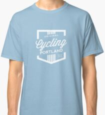 Cycling Portland Badge Classic T-Shirt