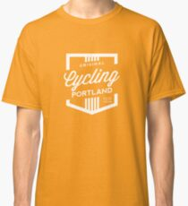 Cycling Portland Badge Classic T-Shirt