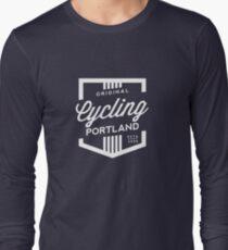 Cycling Portland Badge Long Sleeve T-Shirt