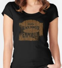 Victors Black Powder Emporium Tailliertes Rundhals-Shirt