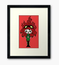 Spicy Horror by Lolita Tequila Framed Print