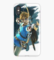 Zelda Breath of the Wild Archer Link iPhone Case