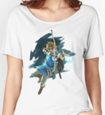 Zelda Breath of the Wild Archer Link Women's Relaxed Fit T-Shirt