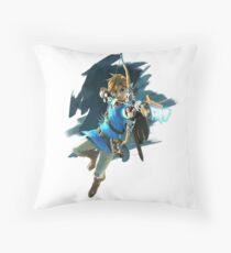Zelda Breath of the Wild Archer Link Throw Pillow