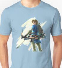 Zelda Breath of the Wild Bogenschütze Link 2 Slim Fit T-Shirt