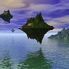 The Floating Lands by sciencenotes