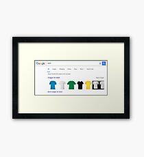 T-Shirt Framed Print