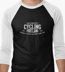 Authentic Cycling Portland Men's Baseball ¾ T-Shirt