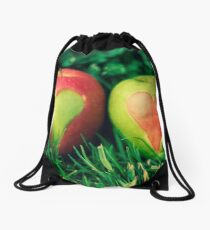 Cross My Heart Drawstring Bag