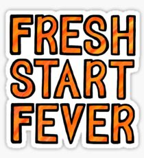 You Me At Six Fresh Start Fever Sticker