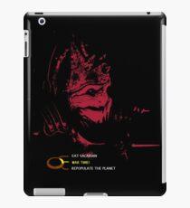 Wrex's choices iPad Case/Skin