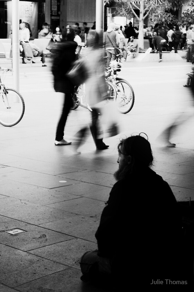 Alone In A Crowded Place by Julie Thomas