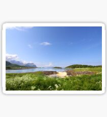 Norwegian Landscape Sticker