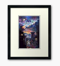 'Setting fire to the rain Framed Print