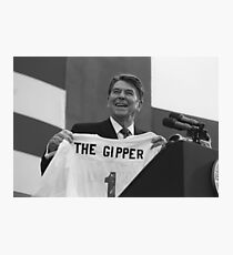 President Ronald Reagan - The Gipper Photographic Print