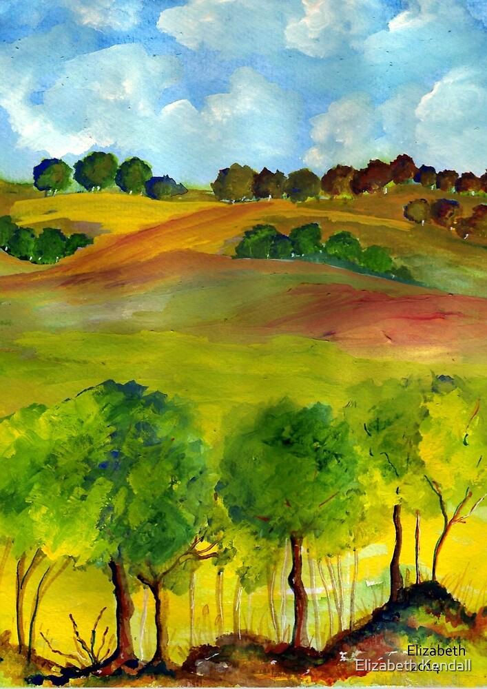 A summer's day by Elizabeth Kendall