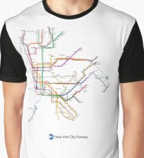 new york subway Graphic T-Shirt
