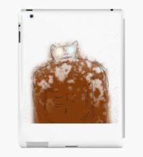 Muscular Cat iPad Case/Skin